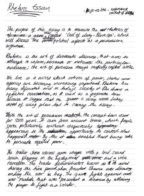 Essay Writing Notes by Creative Contexts Stefan Barretto