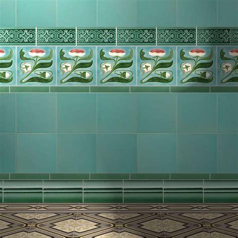 art nouveau bathroom tiles 885 best tiles images on pinterest tiles tiling and