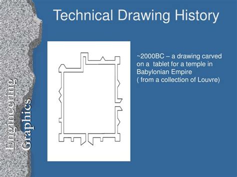 Ppt Technical Drawing History Powerpoint Presentation Id 398190 Engineering Drawing Ppt