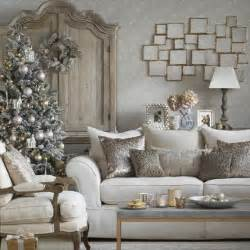 Christmas Home Decor Uk 70 Stylish Christmas D 233 Cor Ideas In Grey Color And French