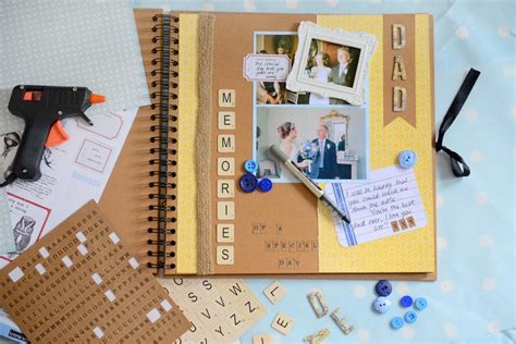 How To Make A Paper Scrapbook - s day scrapbook page hobbycraft