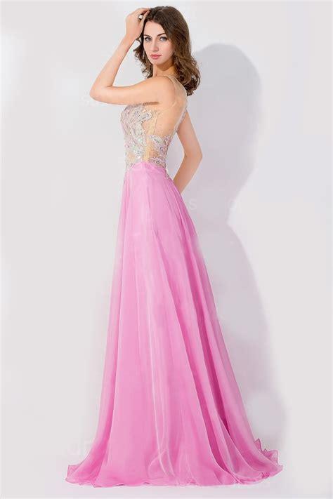 fotomontaje con vestidos de noche vestido de noche fiesta largo chiffon con piedras elegante