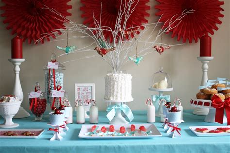 yarah designs christmas dessert table
