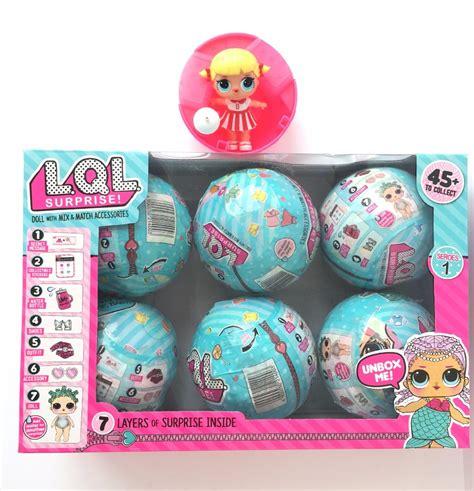 Egg Lol Baby Telur Lol Satuan 1pcs 12 pcs set lol dolls doll dress up toys eggs with toys baby toys for