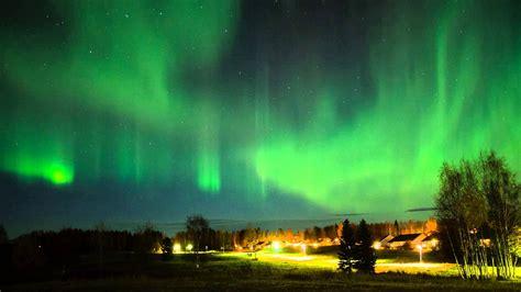 Tromso Northern Lights Northern Lights Timelapse Lule 229 Sweden Youtube
