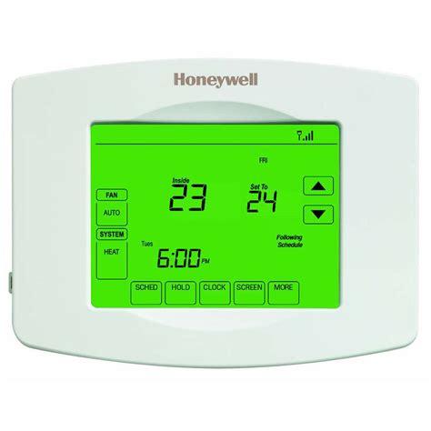 Honeywell Honeywell Wi Fi Smart Thermostat RTH8580WF   Lowe's Canada