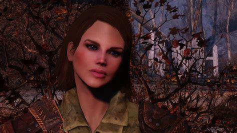 hair and face models fallout 4 ashara fo4 characters as presets mod mod download