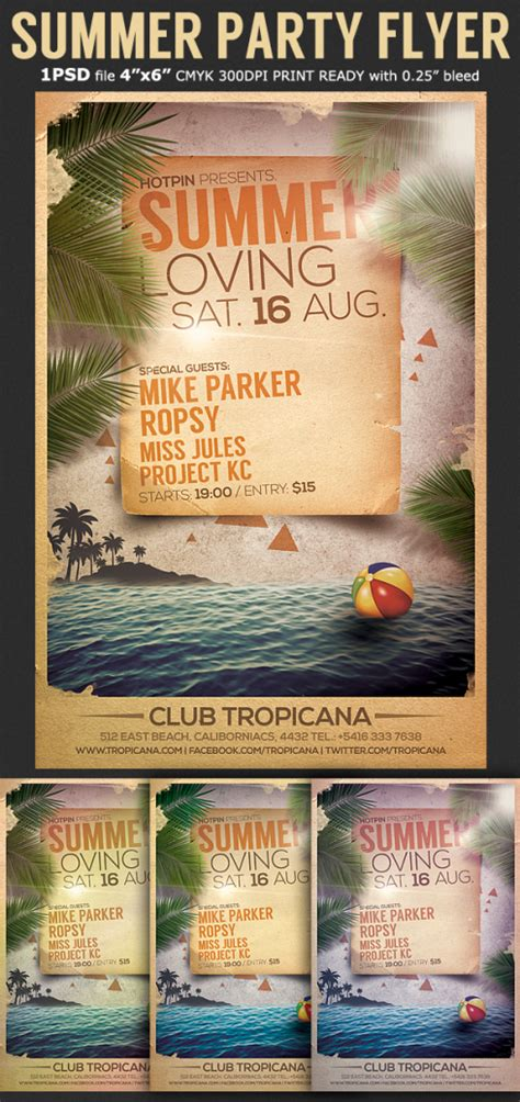 summer event flyer template 301 moved permanently