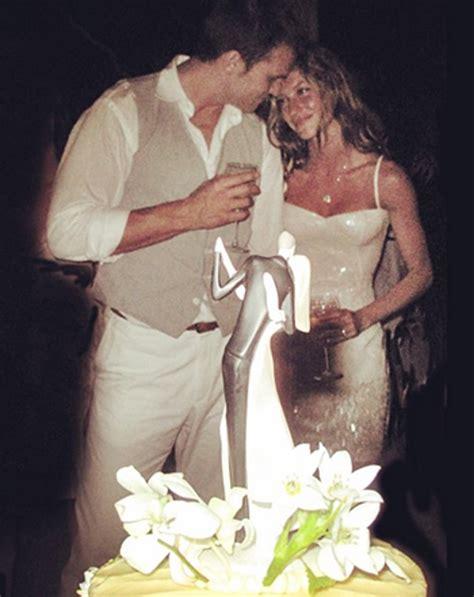 Tom Brady Gisele Bundchen In gisele bundchen recalls quot magical quot wedding day with tom