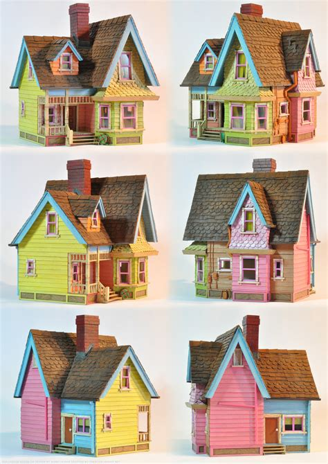 printable house from up up dollhouse poster by artmik on deviantart