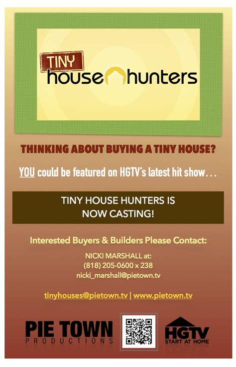 hgtv casting hgtv s tiny house hunters auditions free