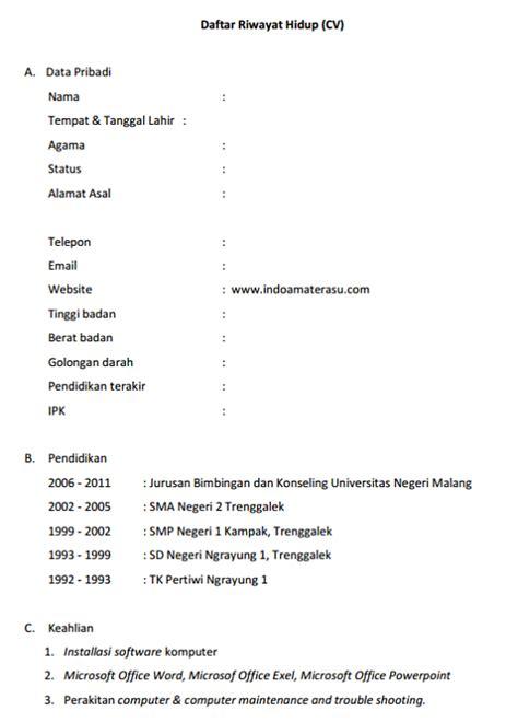 format surat lamaran kerja untuk job fair contoh daftar riwayat hidup untuk job fair ben jobs