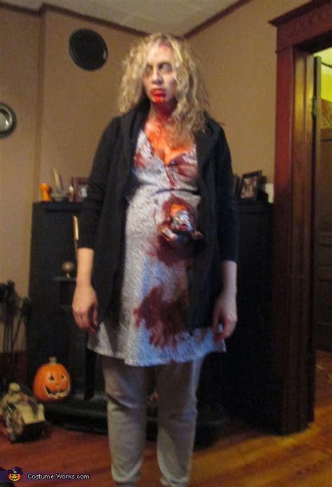 pregnant zombie costume photo