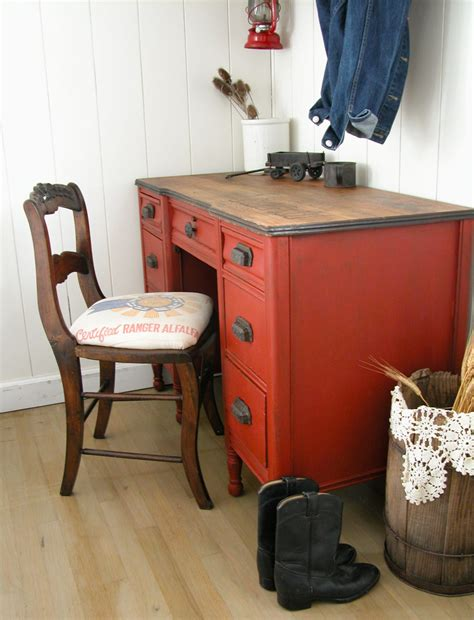 Farm Desk by Farmhouse Desk Rescue Prodigal Pieces