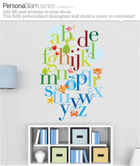 alphabet wall decals for rooms alphabet wall alphabet and vinyl on