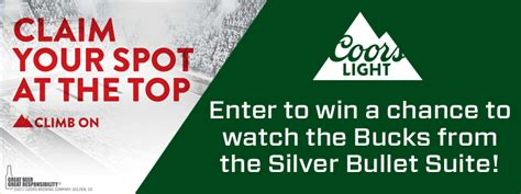 coors light suite bradley center milwaukee bucks sweepstakes milwaukee bucks