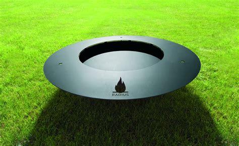 feuerschale schwarz fireplate designer feuerschale 100cm schwarz radius