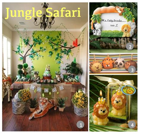 Animal Safari Baby Shower Decorations by Top 10 Tuesdays Totally Unique Baby Shower Ideas For Baby