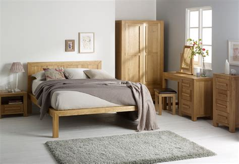 fresco natural solid oak bedroom scandinavian