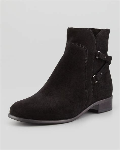 la canadienne suede chelsea boot black in black lyst