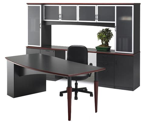 Office Desk Units Opulence Custom Table Desk And Wall Unit