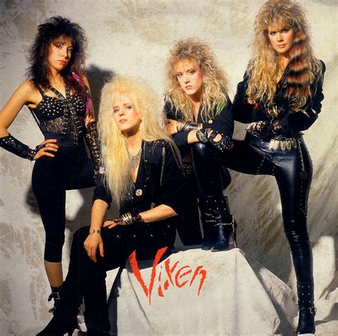 hot ladies of the 80s vixen dark star records