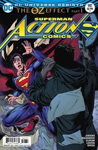 comics superman the oz effect deluxe edition dc comics rebirth spoilers comics 987 the oz