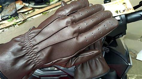 Sarung Tangan Kulit Sarung Tangan Kulit Asli Gloves Yellow New sarung tangan kulit cubit resleting gloves frians leather terbaru