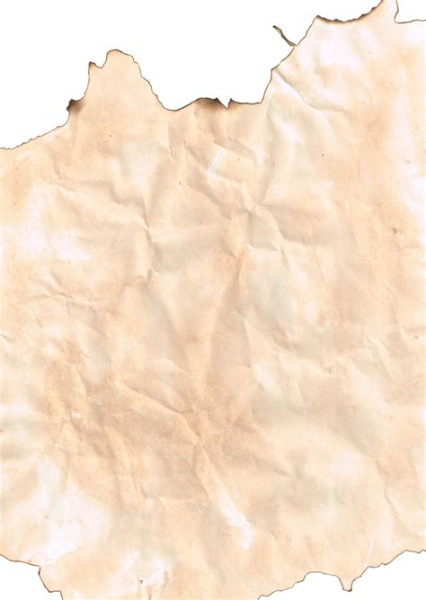 Make Paper Transparent - burnt grunge paper 2 transparent png by greenhammock on