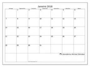 Calendario 2018 Janeiro Calend 225 Rios Para Imprimir Janeiro 2018 Econ 244 Mico Brasil