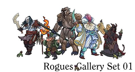 printable heroes printable heroes final rogues gallery set for august