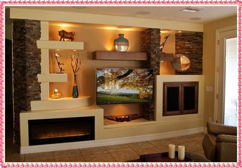 wall unit ideas gypsum tv wall unit idea crowdbuild for