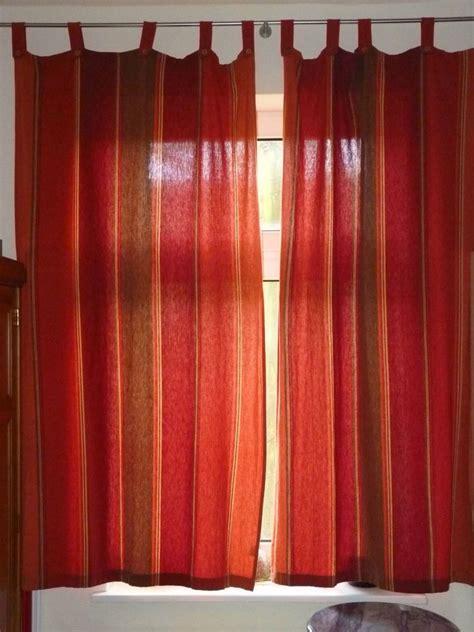 indische vorhange 2 vorh 228 nge schals rot und terracotta sch 246 ner indischer