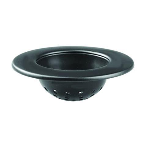 interdesign axis kitchen sink strainer black matte