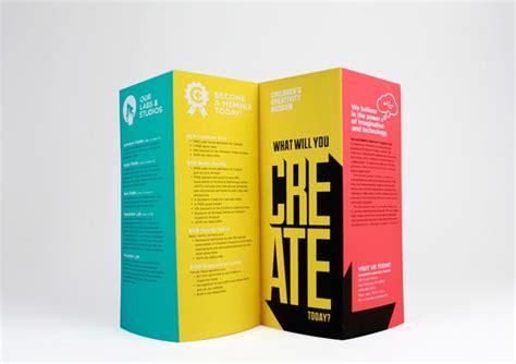 design museum leaflet 40 awesome exhibition museum brochure design ideas