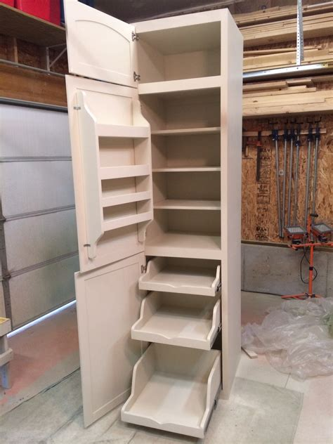 Diy Cupboard Shelves - white kitchen pantry diy projects