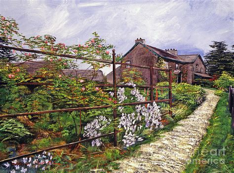 potter house beatrix potter house painting by david lloyd glover