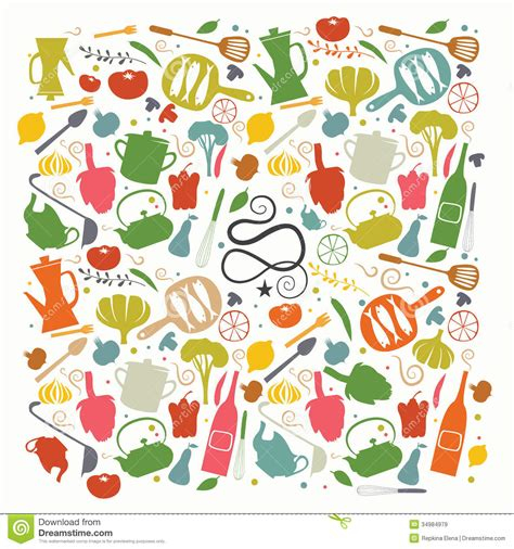 couverture de livre de cuisine images libres de droits