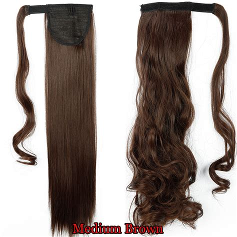 real ponytail hair extensions 100 real thick clip in as human hair extensions pony
