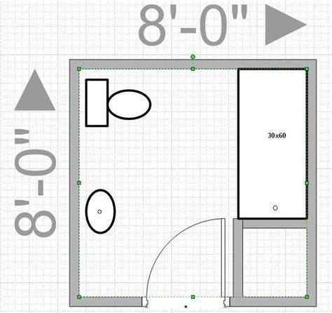 bathroom design planner can i push out my wall to get an 8x8 bathroom leave me with only 4x9 walk in then and that is