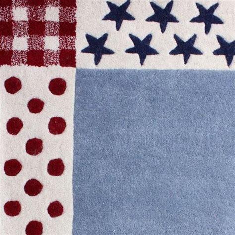 Canvas Rug Polkadot Hitam boys blue and polka dot rug rooms for