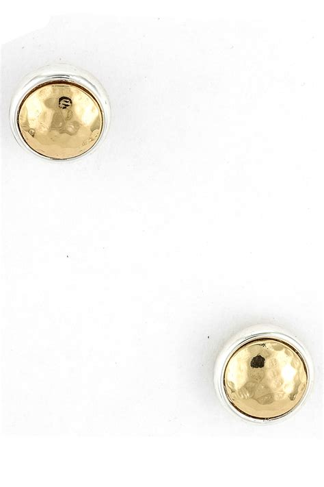 Circle Metal Earrings metal circle stud earring earrings