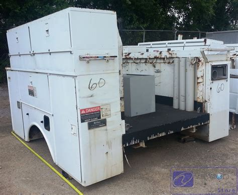 Utility L by Utility Bed Box For Crane Service Truck 60