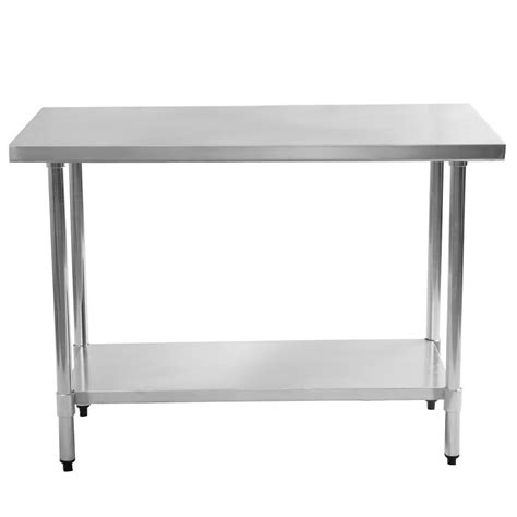 30 quot x 48 quot stainless steel commercial kitchen food prep