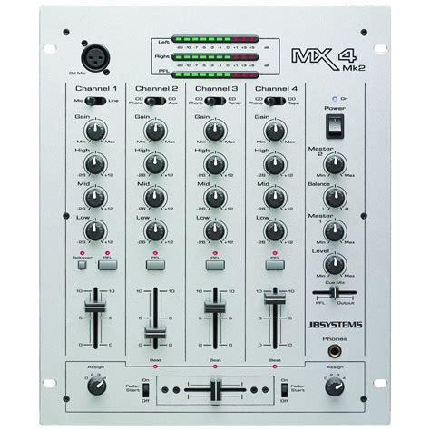 jb systems mx  mixer