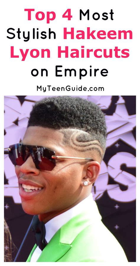 empire tv show hakeem haircut 4 of the the most stylish hakeem lyon haircuts from empire