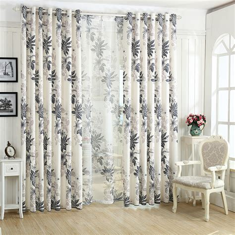 Wholesale Rustic Window Curtains For Living Room Bedroom