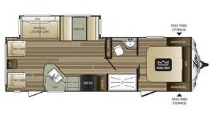 Cougar Travel Trailer Floor Plans 2017 Keystone Cougar Xlite 28rls Model