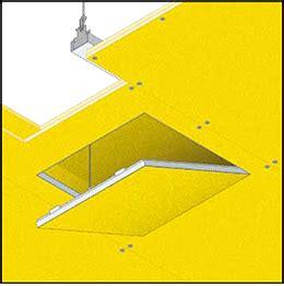 controsoffitto a membrana tecnoroms idea systems plasterboard