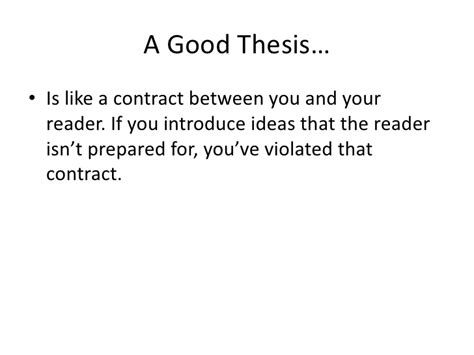 irrelevant thesis fallacy exles thesis statements